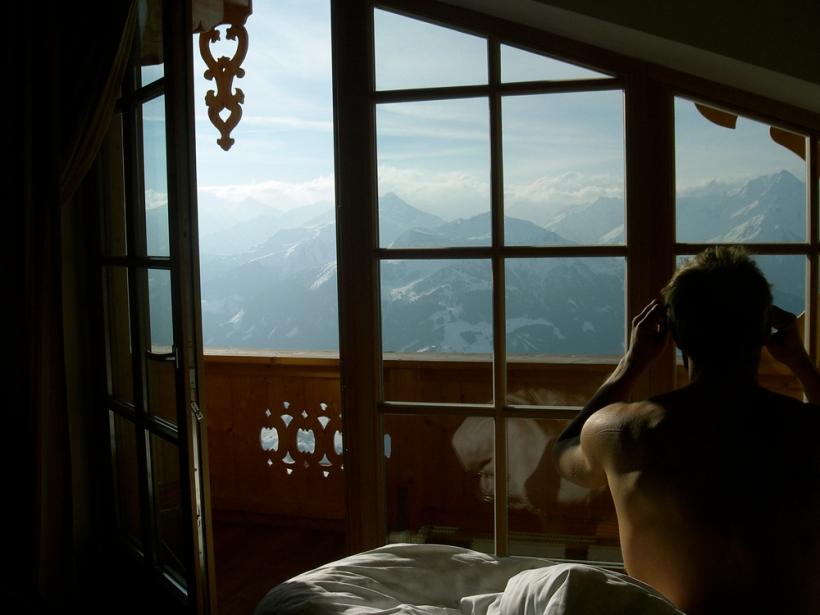 Die Kristallhütte im Zillertal: Was für ein Ausblick!