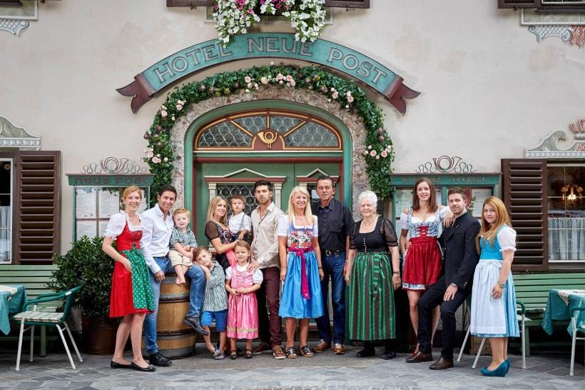 """Im Hotel """"Neue Post"""" in Mayrhofen ganz zentral: Die Familie als Basis!"""